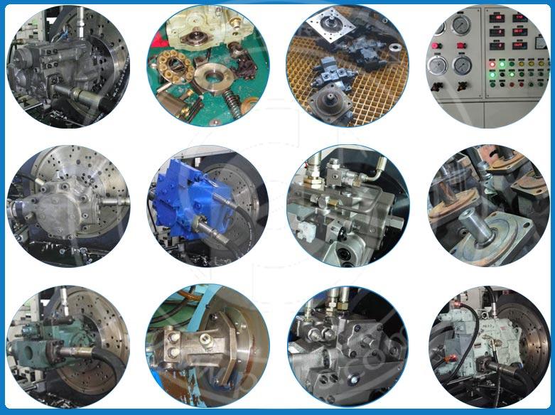 液压油泵维修案例展示