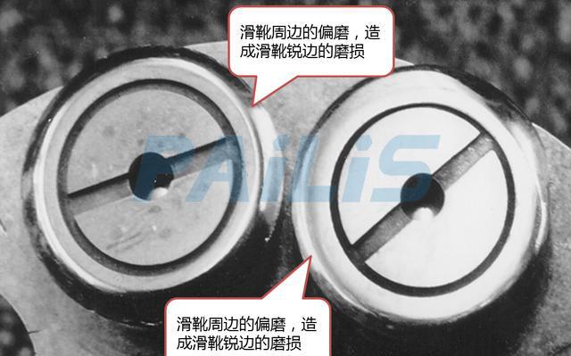 液压泵壳体压力过高的危害:油封漏油+滑靴偏磨+斜盘磨损+回程盘断裂