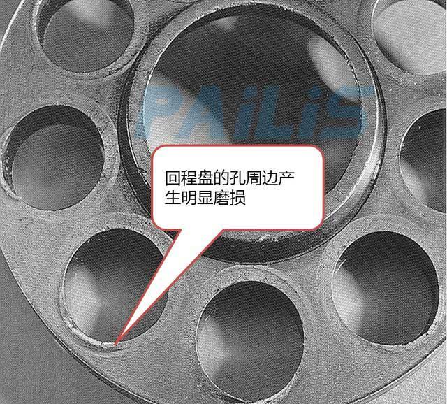 力士乐液压泵回程盘磨损